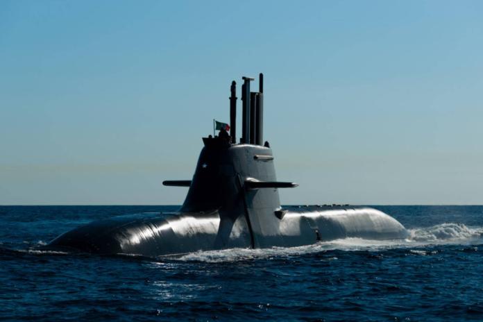 U212A Todaro class submarine Pietro Venuti