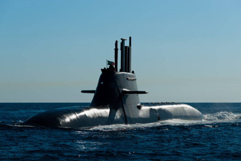 Elettronica Will Equip Italian Navy's U212 NFS Submarines With its EW Suite