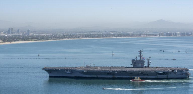 Nimitz CSG returns from 11-month deployment