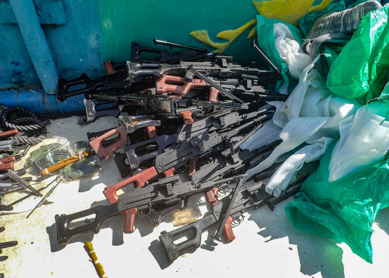 USS Winston S. Churchill Seized Weapons 2 - Naval Post