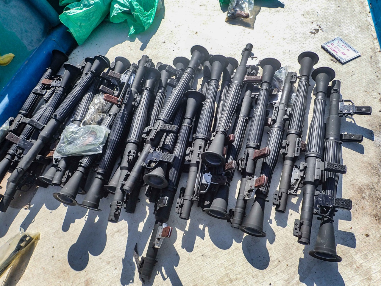 USS Winston S. Churchill Seized Weapons - Naval Post