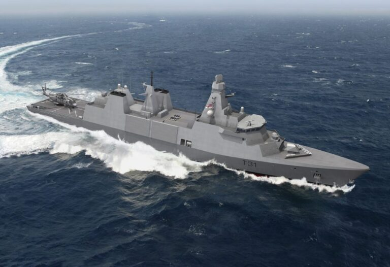 Type 31 Frigates to contribute UK's position as the foremost naval power in Europe
