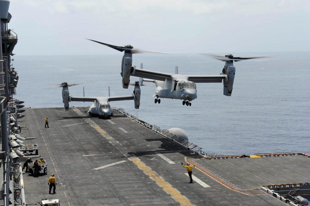 mv 22 osprey - naval post- naval news and information