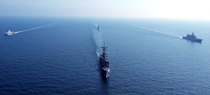 Pakistan Navy conducts bilateral exercises with Russian and Sri Lankan warships