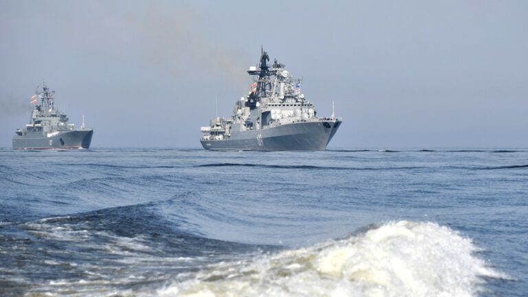 Russia & Iran conduct Maritime Security Belt-2021 exercise