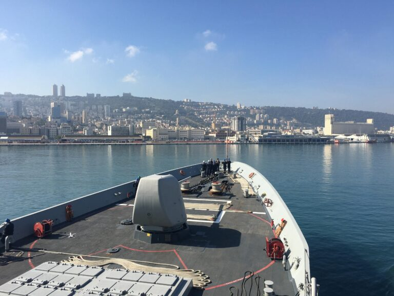 Standing NATO Maritime Group visits Haifa