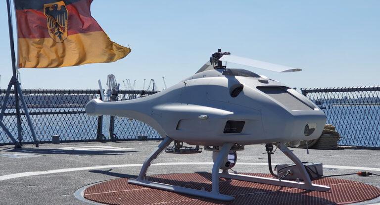 UMS SKELDAR announces 1st naval deployment of full ATOL capability of V-200 UAV