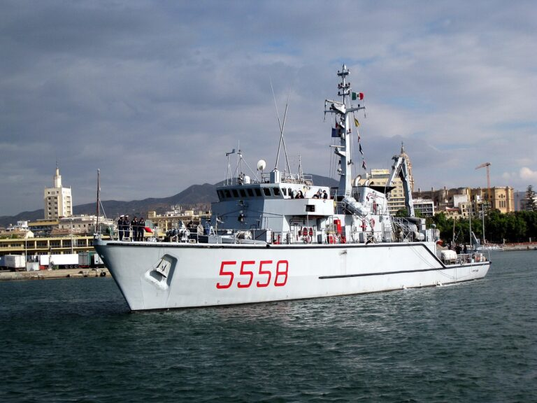What is the difference between a minehunter and a minesweeper?