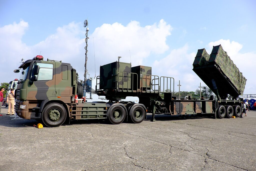 1620px rocn hsiung feng ii hsiung feng iii anti ship missile launchers truck display at zuoying naval base ground 20151024 - naval post