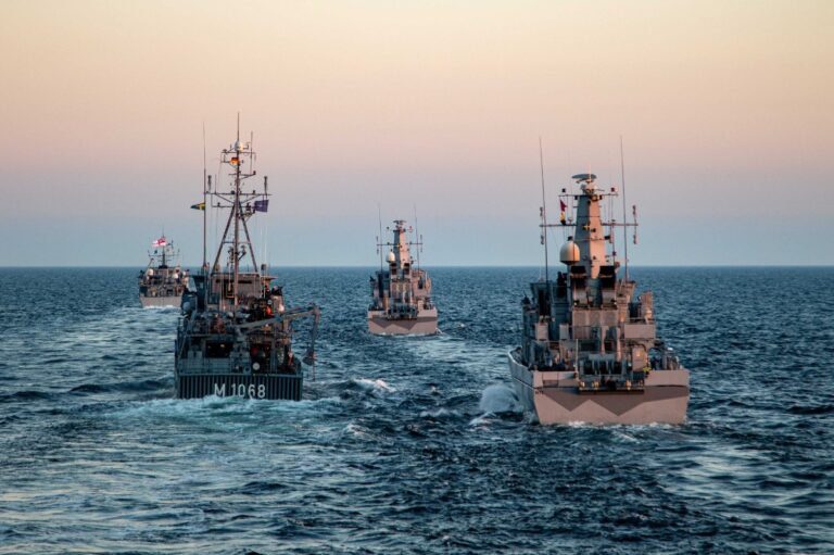 Standing NATO Mine Countermeasures Group 1 visits Sweden