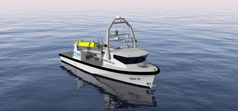 The Belgian and Dutch navies select ECA Group's USV INSPECTOR 125 for the MCMV program