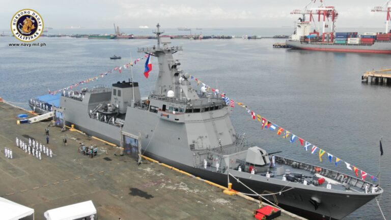 Philippine Navy commissions 2nd Jose Rizal-class missile frigate