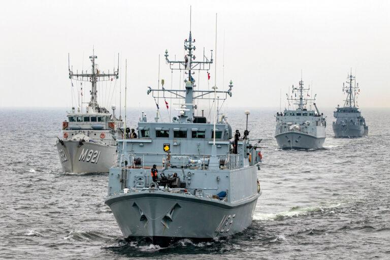 SNMCMG1 holds MULTEX combat enhancement training in Denmark