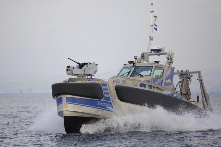 Elbit improves autonomy and safety of Seagull USV