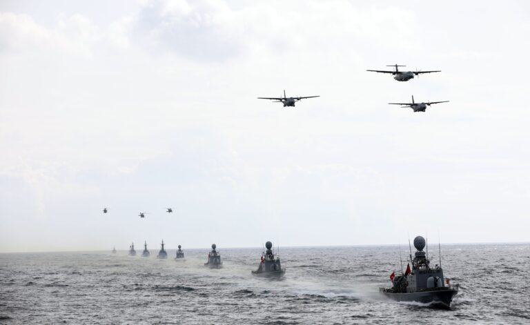 Turkish Navy wraps out Blue Homeland 2021 exercise