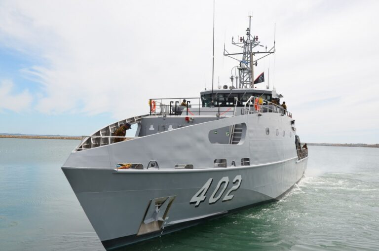 Austal Australia delivers 9th Guardian-class patrol boat