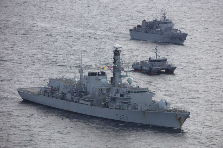 UK leads multinational task force to conduct patrol in the Baltic Sea