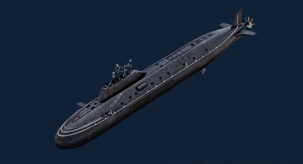project 885m class submarine k-560 severodvinsk