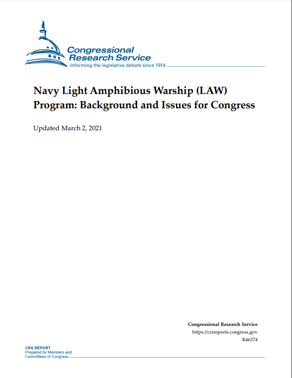 Light Anmphibious Warship LAW - Naval Post