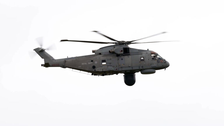 Royal Navy's New AEW Helicopter Enters Service