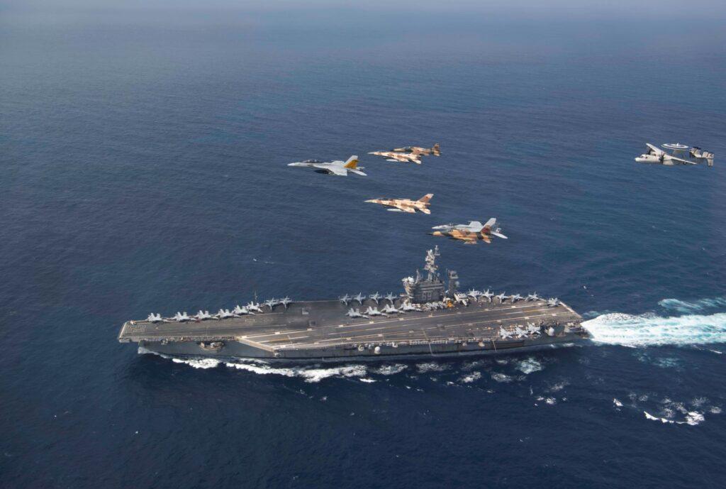 Moroccan Air Force Eisenhower Strike Group - Naval Post