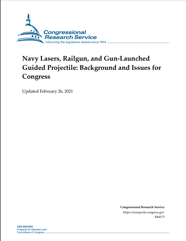 navy lasers railgun and gun launched guided projectile - naval post- naval news and information
