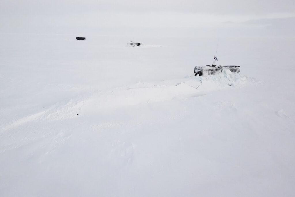 russian submarines during umka-21 arctic exercise