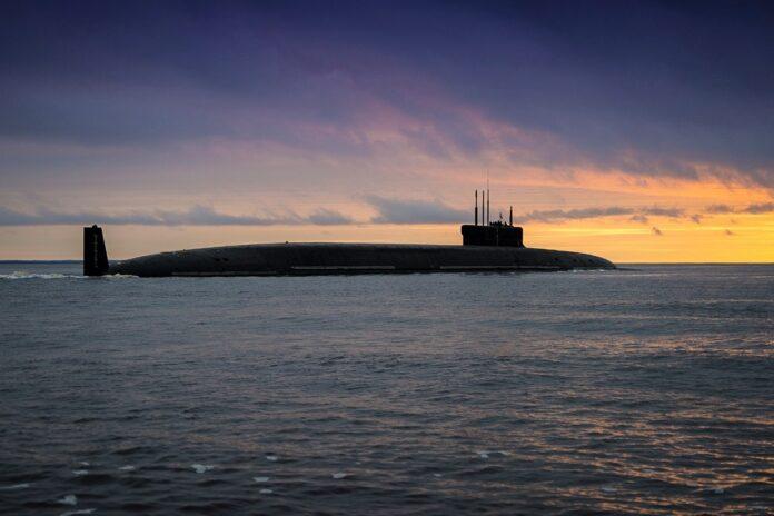 Borei Class submarine Knaz Vladimir (Image: Russian MOD)