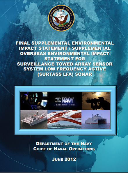 SURTASS Documents - Naval Post
