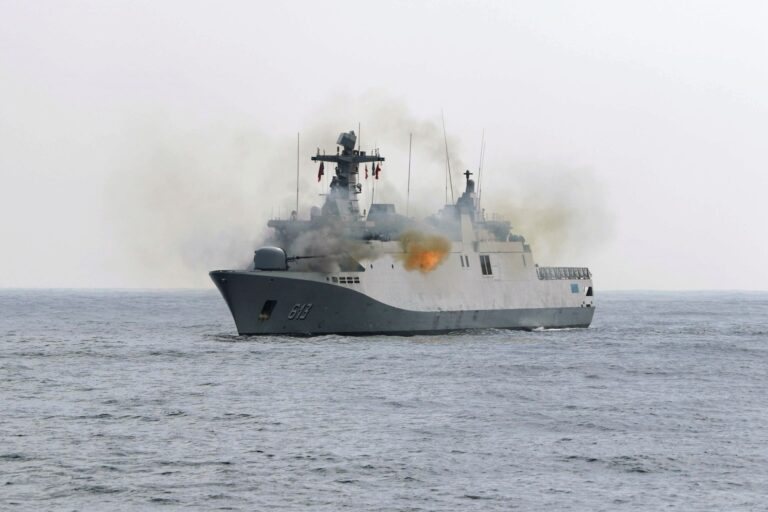 U.S. Navy and Royal Moroccan Navy Conduct Exercise Lightning Handshake