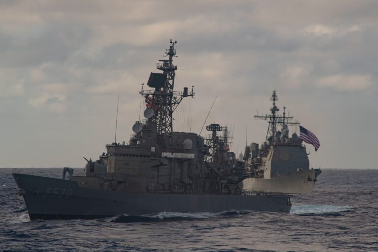 Theodore Roosevelt CSG Conducts Bilateral Exercise with JMSDF