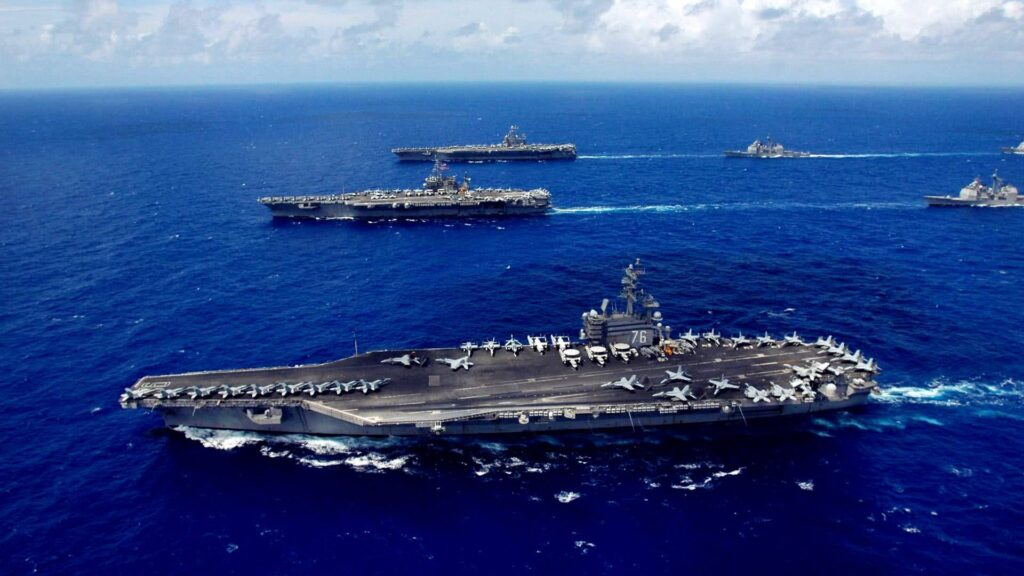 us navy aircraft carriers