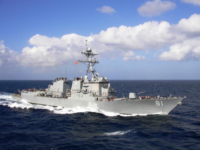 USS Winston Churchill Port Sudan