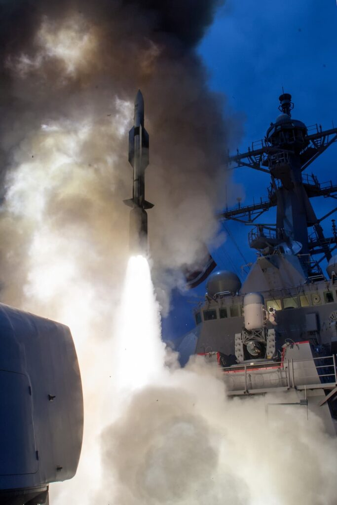 USS John Paul Jones DDG 53 launches RIM 174 June 2014 - Naval Post
