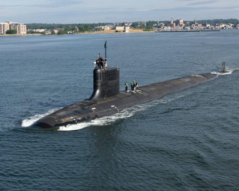 Huntington Ingalls Industries Launches Virginia-Class Submarine Montana (SSN 794)