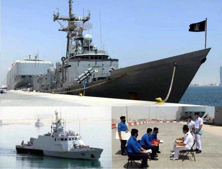 Pakistan Navy participates in Asad Al Bahr-II exercise in Qatar