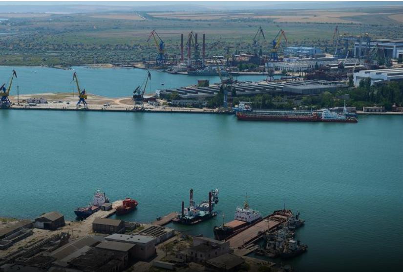 Zaliv Kerch Shipyard - Naval Post