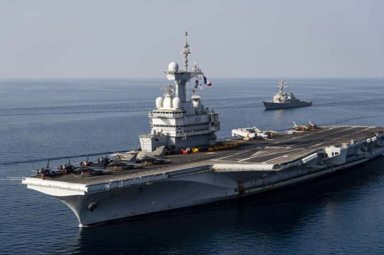 USS Donald Cook Supports Charles de Gaulle Carrier Strike Group