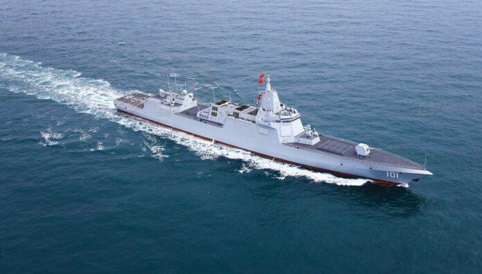 PLA Navy's Type 055 Class Destroyer Nanchang 101