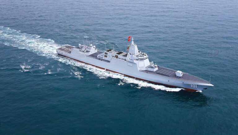 The Most Powerful Chinese destroyer, Type 055 Class Nanchang, spotted in waters near Japan