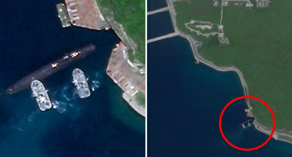 chinese hidden underground submarine base - naval post- naval news and information