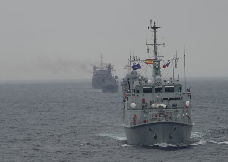NATO Standing MCM Group conducts Poseidon 21 exercise in the Black Sea