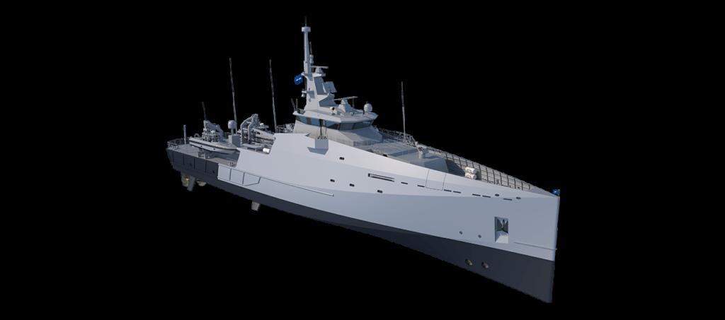 multi-mission inshore patrol vessel