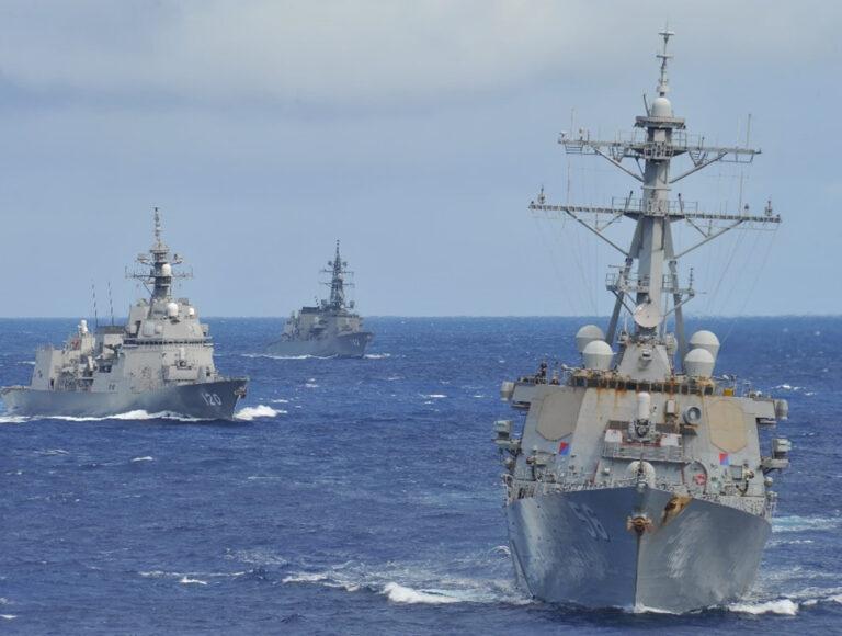 U.S. Navy and JMSDF Conducts Bilateral Advanced Warfighting Training (BAWT)