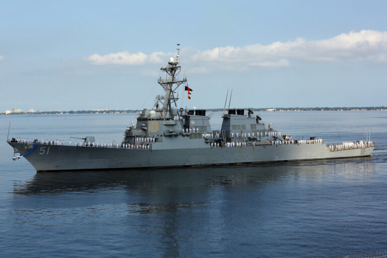 USS Arleigh Burke en route to Rota for FDNF mission