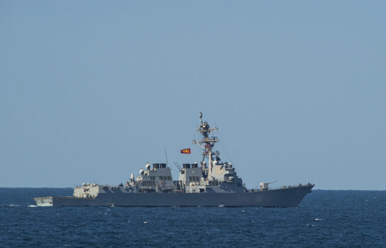 USS Winston S. Churchill returns to homeport after 9-month deployment
