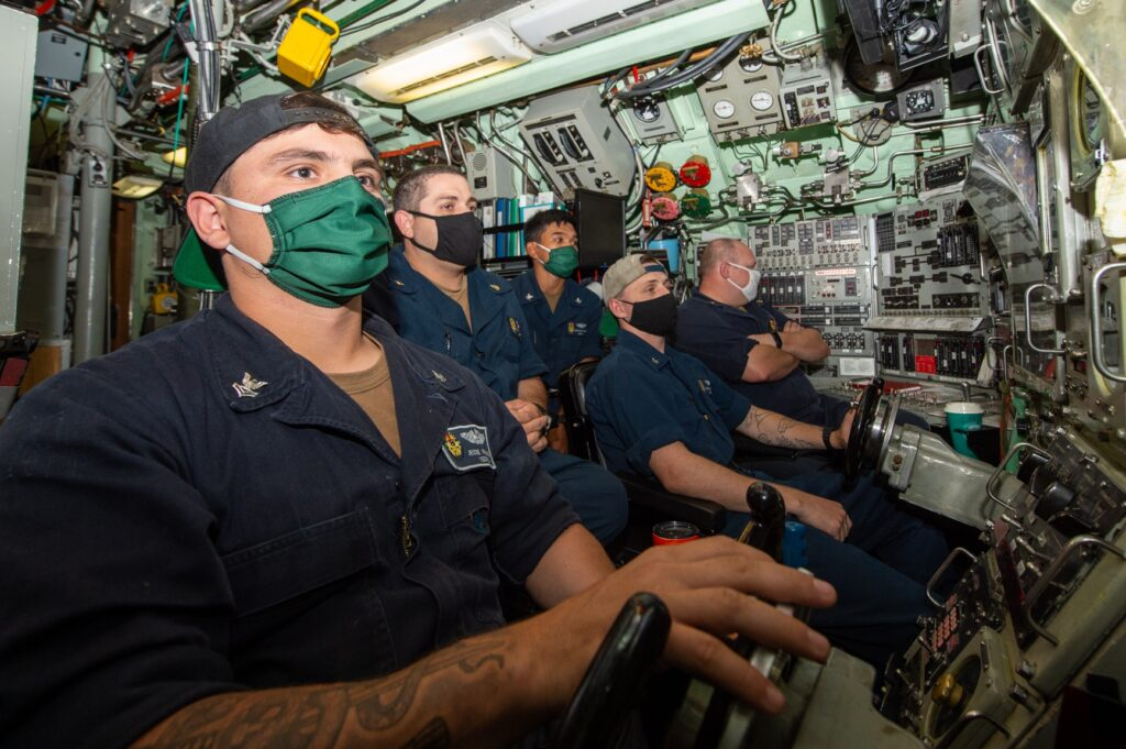 watch ona submarine - naval post- naval news and information