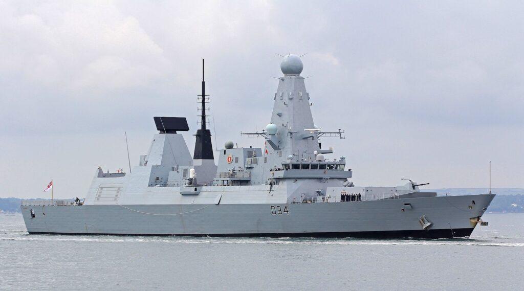 type 45 air-defence destroyer hms diamond (d34)