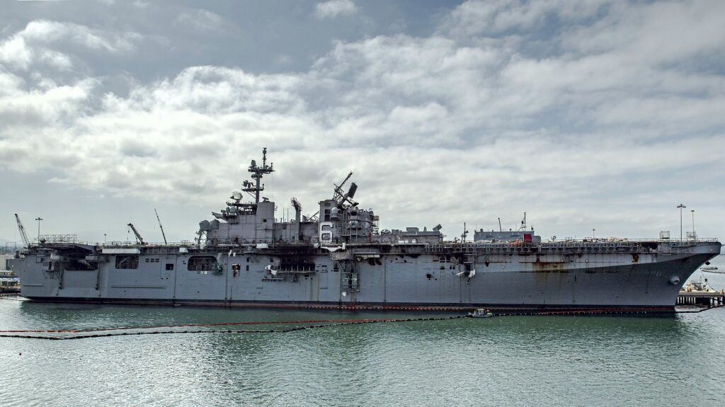 1920px uss bonhomme richard lhd 6 at naval base san diego california usa on 16 july 2020 200717 n ss350 1031 - naval post- naval news and information