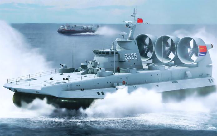 PLA Navy LCAC